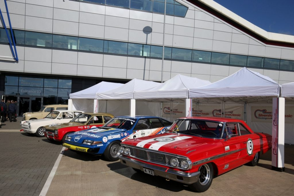 Silverstone Classic Media Day 2016, Silverstone Circuit, Northants, England. 27th April, 2016 Ford Galaxie Copyright Free for editorial use